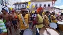 Carnaval de Diamantina atrai 20 mil pessoas por dia