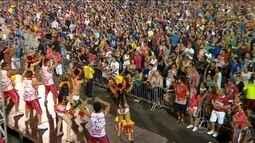 Garantido e Caprichoso dão o tom no Carnaval de Manaus