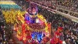 Vila Isabel - Compacto do desfile de 08/02/2016