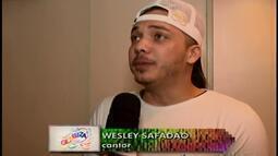 Wesley Safadão anima o carnaval em Abaeté