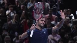 Roger Federer atinge a marca de 600 semanas entre os três melhores do mundo no tênis