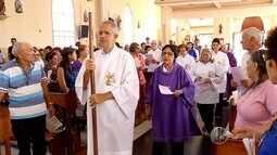 Para fiéis católicos, quarta-feira de cinzas marca o início do período da quaresma