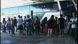 Estradas e terminal rodoviário em Uberaba registram aumento de fluxo após carnaval