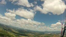 Pilotos de parapente do Noroeste do ES percorrem cerca de 120 km