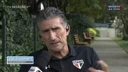 Bauza fala sobre organização do São Paulo em campo e jogador brasileiro taticamente