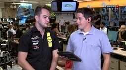 Entrevista com Felipe Fraga, o mais jovem vencedor da Stock Car
