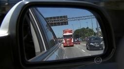 Pelo menos 20 mil caminhões que passam por SP não precisam entrar nas ruas da capital