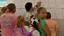 Volta às aulas movimenta escolas municipais nesta quinta-feira (11)