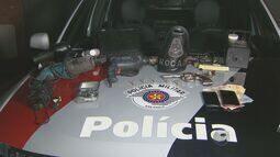 Um homem é preso e dois adolescentes são apreendidos suspeitos de roubo em Campinas