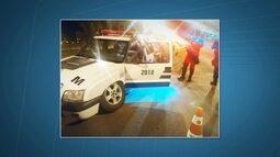 Mais uma viatura da Polícia Militar sofre acidente no Guará