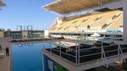 Parque Aquático Maria Lenk está pronto para a Copa do Mundo de Saltos Ornamentais