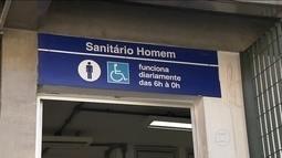 Banheiros da Linha-azul do Metrô podem ficar fechados por muito tempo