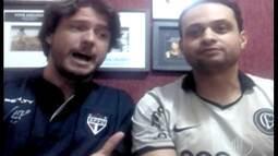 Garotinhos FC falam da expectativa para o clássico entre Corinthians e São Paulo