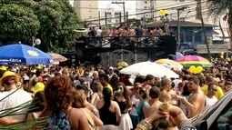 Mais de 20 blocos de carnaval reúnem foliões neste sábado (13)