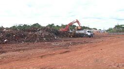 Cerca de 5 mil toneladas foram retiradas de depósito provisório no Porto Meira