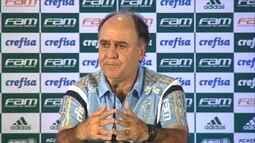Técnico Marcelo Oliveira explica a derrota do Palmeiras para o Linense pelo Paulistão