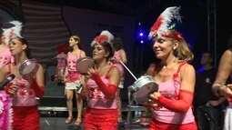 Bloco 'Mulheres de Chico' leva milhares de pessoas para a praia no Rio