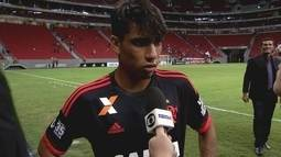 Entrevista: Lucas Paquetá aproveita oportunidade e tenta buscar espaço no elenco