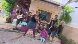 Banda de Rock em São Sebastião faz sucesso com as crianças