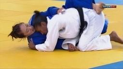 Desafio de Judô Brasil x Coria: Ketleyn Quadros vence Eun-Sol Choi