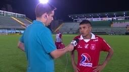 Júnior Lacraia diz que agora é levantar a cabeça e focar no Amazonense e Série D