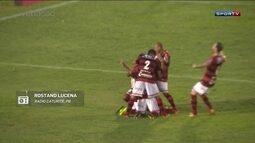Redação AM: Rostand Lucena narra gols da classificação do Campinense