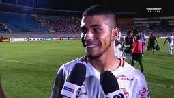 Após boa atuação do Vila, Dudu mostra confiança na classificação