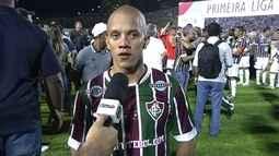 "Marcos Junior fala sobre o gol do título: ""Dei meu último gás"""