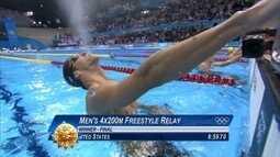 Pílulas olímpicas: Phelps conquista mais um ouro no revezamento nas Olimpíadas de Londres