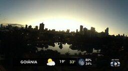 Confira a previsão do tempo para Goiás nesta sexta-feira (22)