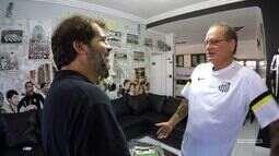 Universo Santástico - Alemão, torcedor do peixe, fala da sua tatuagem do Santos na testa