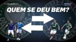 Quem se deu bem? Palmeiras e Cruzeiro trocam jogadores antes do Brasileirão