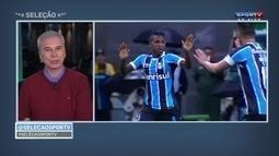 Saraiva analisa duelo entre Grêmio e Rosário e vê Bolaños como boa opção de titular