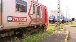 Por causa de infiltração, novas composições do Trensurb precisarão de manutenção