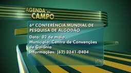 Fique de olho na agenda do campo para esta semana em Goiás