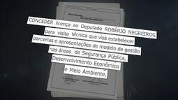 Deputado Robério Negreiros vai passar uma semana na Itália