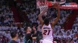 Melhores momentos: Charlotte Hornets 73 x 106 Miami Heat pela NBA