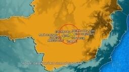 UnB registra tremor de terra na Região Metropolitana de Belo Horizonte