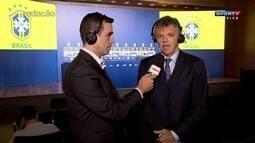 Gilmar Rinaldi diz que o critério para convocação para as Olimpíadas vai ser técnico