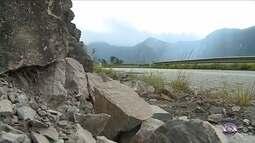 Com deslizamentos constantes, Serra do Rio do Rastro ameaça turistas e motoristas