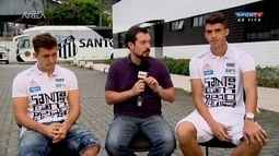 Ronaldo Mendes e Gustavo Henrique falam sobre o título do Campeonato Paulista