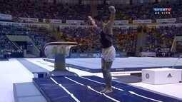Arthur Nory faz apresentação no salto e fica com 14.800
