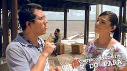 Confira os bastidores do programa É do Pará de sábado, 21