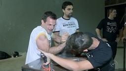 No Jogos Rio 2016, a luta de braço será modalidade de exibição
