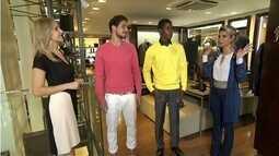 'Banho de Loja': Homens se preocupam com combinações de roupa