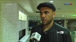 Boletim da Seleção: Daniel Alves está apto para jogar Rafinha e Douglas Costas são dúvidas