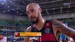 Marquinhos destaca erros do Flamengo na segunda partida contra o Bauru