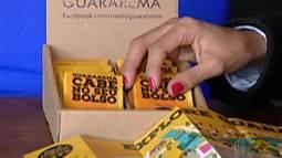 Comerciantes de Guararema criam 'guia de bolso' para auxiliar turistas