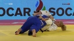 Mayra Aguiar conquista medalha de Prata no Masters de Judô em Guadalajara, no México