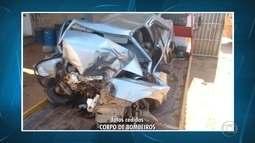 Quatro pessoas morrem em acidente depois de festa de casamento em Minas Gerais